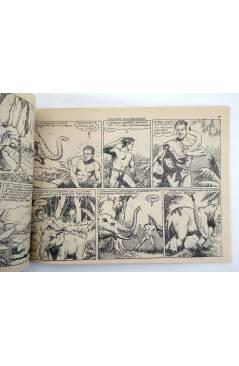 Contracubierta de JORGA PIEL DE BRONCE 11. FAUCES VENGADORAS (No Acreditado) Ricart 1963