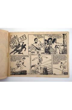 Contracubierta de JORGA PIEL DE BRONCE 10. LUCHA A MUERTE (No Acreditado) Ricart 1963