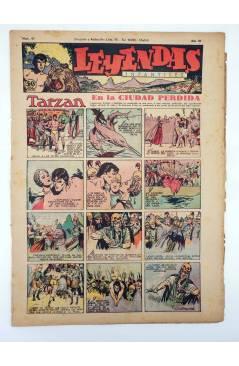 Cubierta de LEYENDAS INFANTILES. AÑO III N.º 97 (Vvaa) Semic Hispano Americana 1944