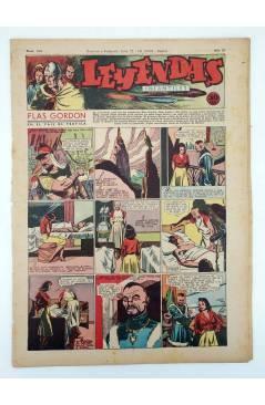 Cubierta de LEYENDAS INFANTILES. AÑO III N.º 104 (Vvaa) Semic Hispano Americana 1944