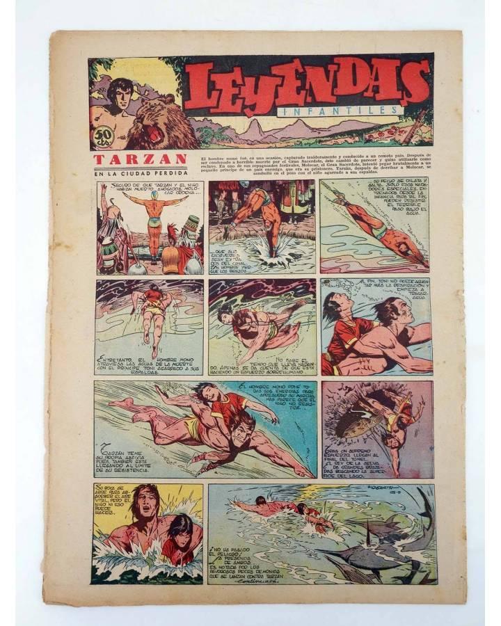 Cubierta de LEYENDAS INFANTILES. AÑO III N.º 109 (Vvaa) Semic Hispano Americana 1944