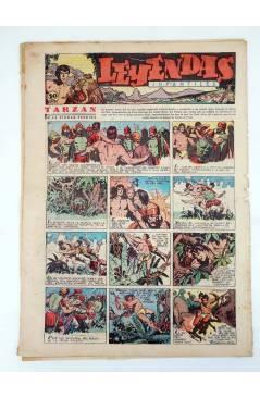 Contracubierta de LEYENDAS INFANTILES. AÑO III N.º 113 (Vvaa) Semic Hispano Americana 1944
