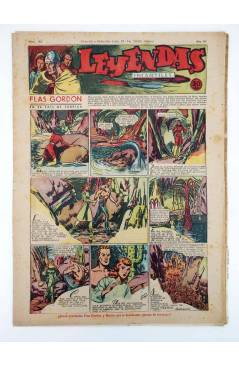 Cubierta de LEYENDAS INFANTILES. AÑO III N.º 120 (Vvaa) Semic Hispano Americana 1944