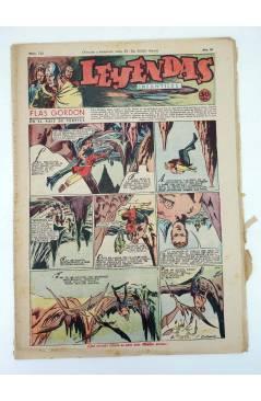 Cubierta de LEYENDAS INFANTILES. AÑO III N.º 123 (Vvaa) Semic Hispano Americana 1944