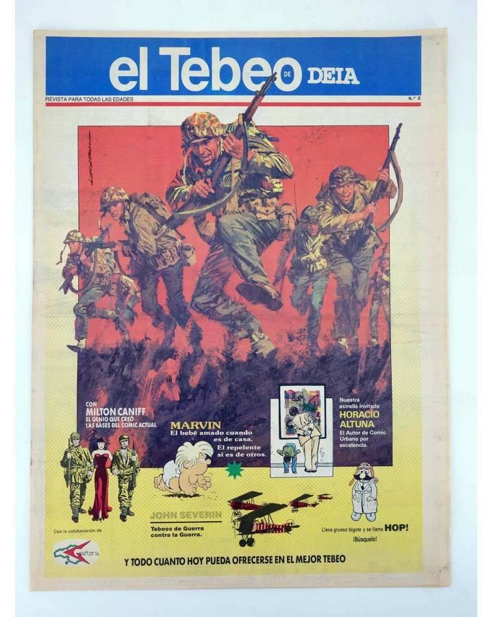 Cubierta de EL TEBEO DE DEIA 2. SUPLEMENTO COMICS DEIA DIARIO DE EUSKADI. REVISTA PARA TODAS LAS EDADES (Vvaa) Deia 1990