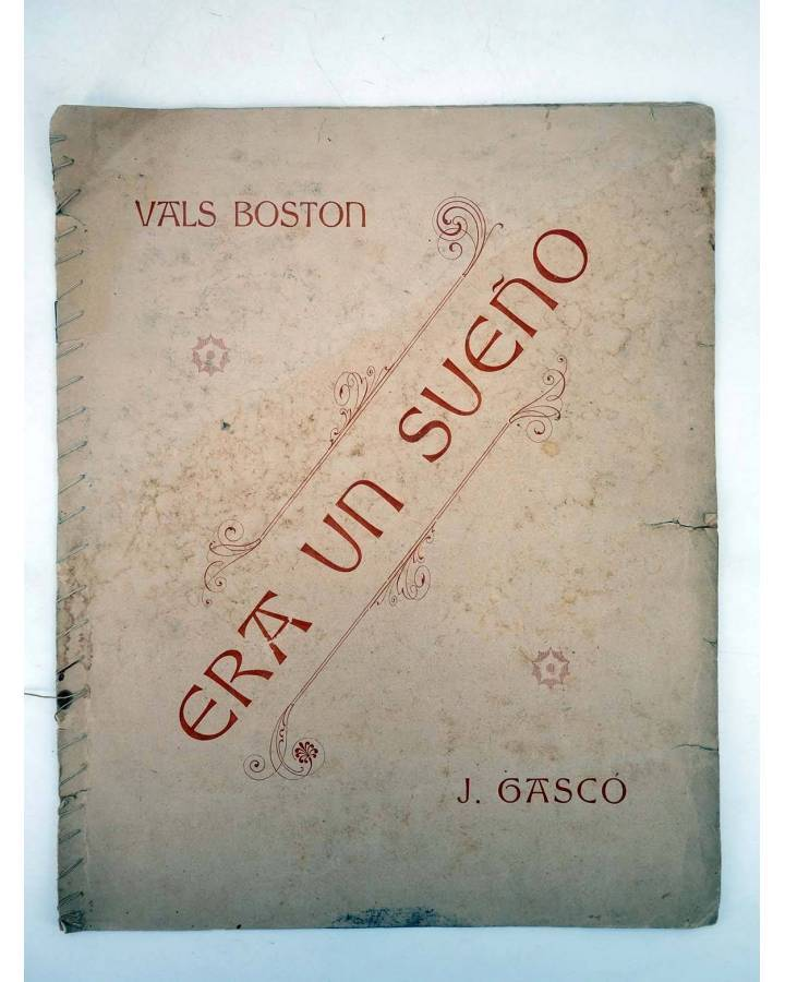 Cubierta de ERA UN SUEÑO. VALS BOSTON (Juan Gascó) No acreditada s/f