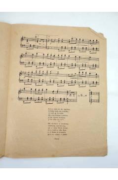 Contracubierta de LA CHAPARRITA. CANCÍON (L. Foglietti) Unión Musical Española s/f