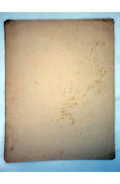 Contracubierta de MY HEART'S DESIRE VALSE DOUBLE LENTE (C Worsley) Manuel Villar 1916