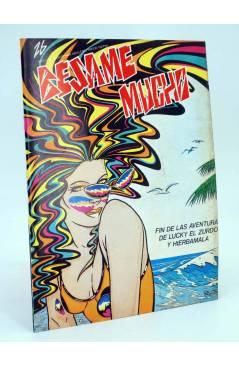 Cubierta de REVISTA BESAME MUCHO 26. MOVIDA MADRID (Vvaa) Producciones Editoriales 1979