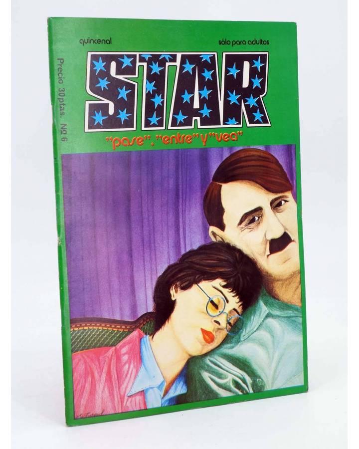 Cubierta de REVISTA STAR 6. COMIX Y PRENSA MARGINAL (Vvaa) Producciones Editoriales 1974