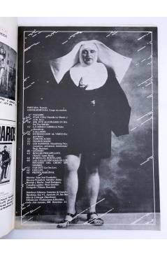 Contracubierta de REVISTA STAR 25. COMIX Y PRENSA MARGINAL (Vvaa) Producciones Editoriales 1974