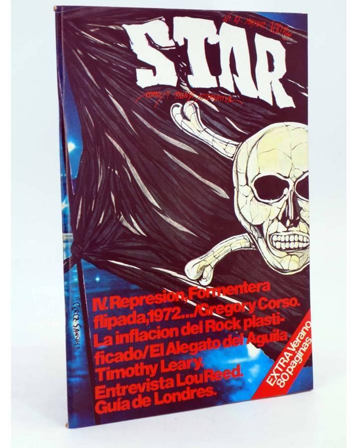 Cubierta de REVISTA STAR 27. COMIX Y PRENSA MARGINAL (Vvaa) Producciones Editoriales 1974