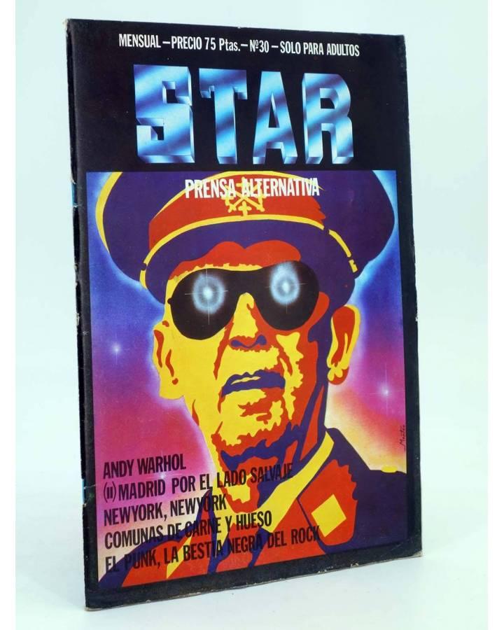 Cubierta de REVISTA STAR 30. COMIX Y PRENSA MARGINAL (Vvaa) Producciones Editoriales 1974