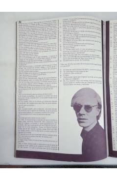 Contracubierta de REVISTA STAR 30. COMIX Y PRENSA MARGINAL (Vvaa) Producciones Editoriales 1974
