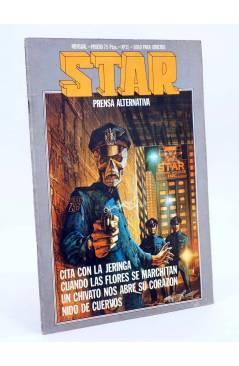 Cubierta de REVISTA STAR 31. COMIX Y PRENSA MARGINAL (Vvaa) Producciones Editoriales 1974