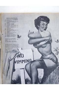 Contracubierta de REVISTA STAR 31. COMIX Y PRENSA MARGINAL (Vvaa) Producciones Editoriales 1974