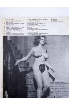 Contracubierta de REVISTA STAR 32. COMIX Y PRENSA MARGINAL (Vvaa) Producciones Editoriales 1974