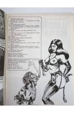 Contracubierta de REVISTA STAR 33. COMIX Y PRENSA MARGINAL (Vvaa) Producciones Editoriales 1974