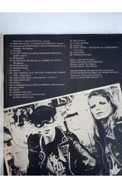 Contracubierta de REVISTA STAR 34. COMIX Y PRENSA MARGINAL (Vvaa) Producciones Editoriales 1974