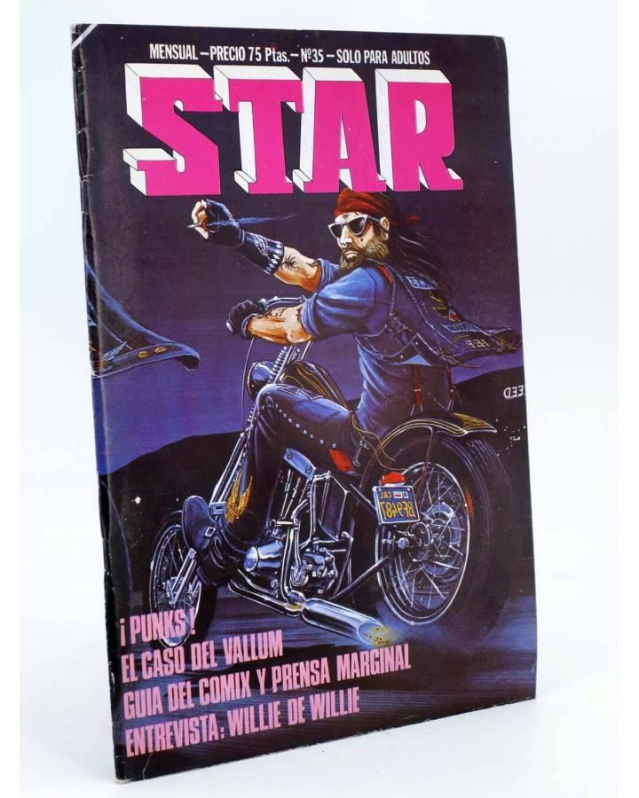 Cubierta de REVISTA STAR 35. COMIX Y PRENSA MARGINAL (Vvaa) Producciones Editoriales 1974