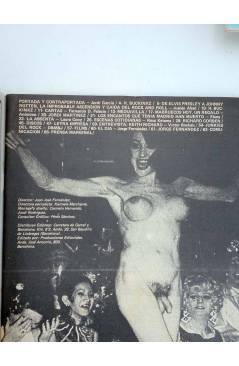 Contracubierta de REVISTA STAR 36. COMIX Y PRENSA MARGINAL (Vvaa) Producciones Editoriales 1974