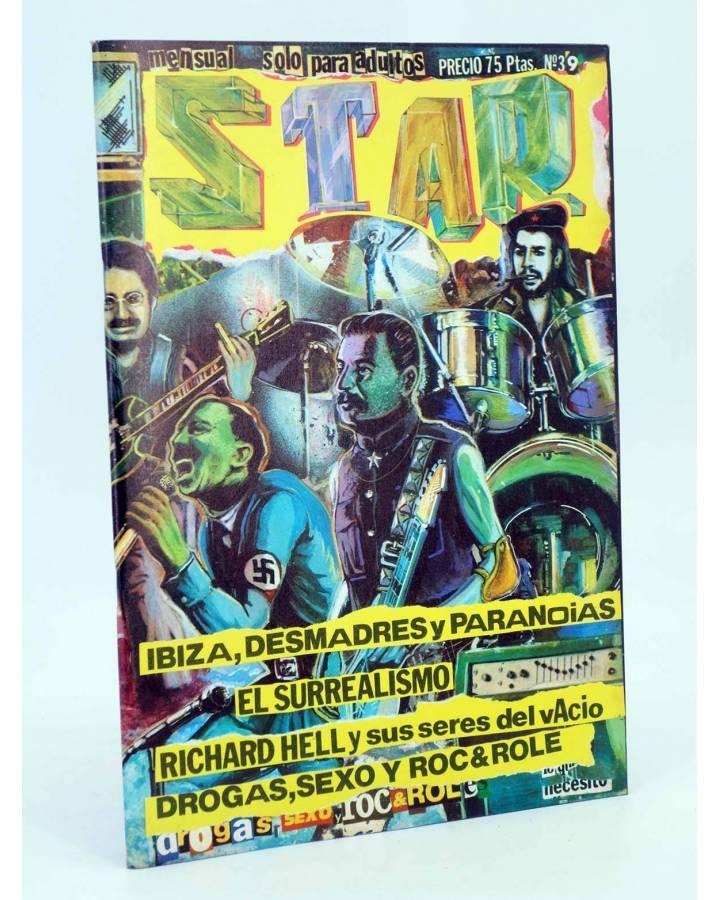 Cubierta de REVISTA STAR 39. COMIX Y PRENSA MARGINAL (Vvaa) Producciones Editoriales 1974