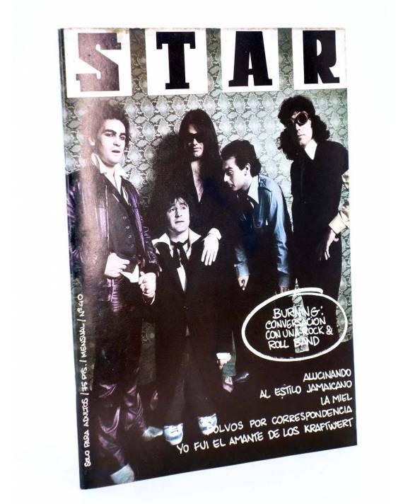 Cubierta de REVISTA STAR 40. COMIX Y PRENSA MARGINAL (Vvaa) Producciones Editoriales 1974