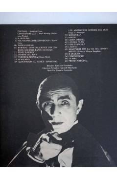 Contracubierta de REVISTA STAR 40. COMIX Y PRENSA MARGINAL (Vvaa) Producciones Editoriales 1974