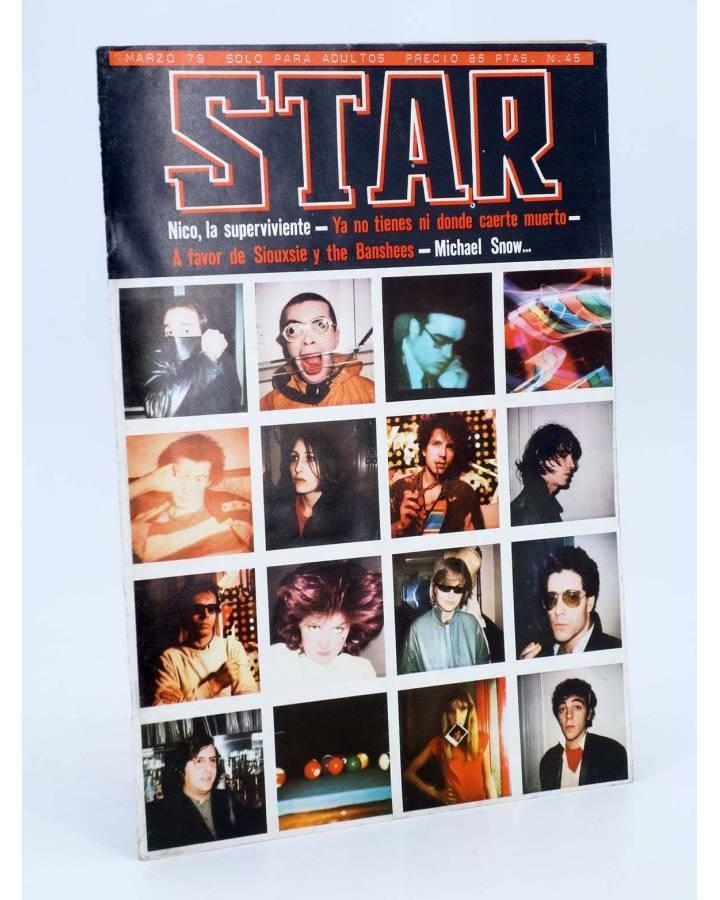 Cubierta de REVISTA STAR 45. COMIX Y PRENSA MARGINAL (Vvaa) Producciones Editoriales 1974