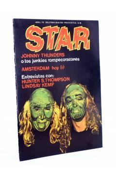 Cubierta de REVISTA STAR 46. COMIX Y PRENSA MARGINAL (Vvaa) Producciones Editoriales 1974