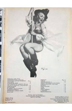 Contracubierta de REVISTA STAR 46. COMIX Y PRENSA MARGINAL (Vvaa) Producciones Editoriales 1974