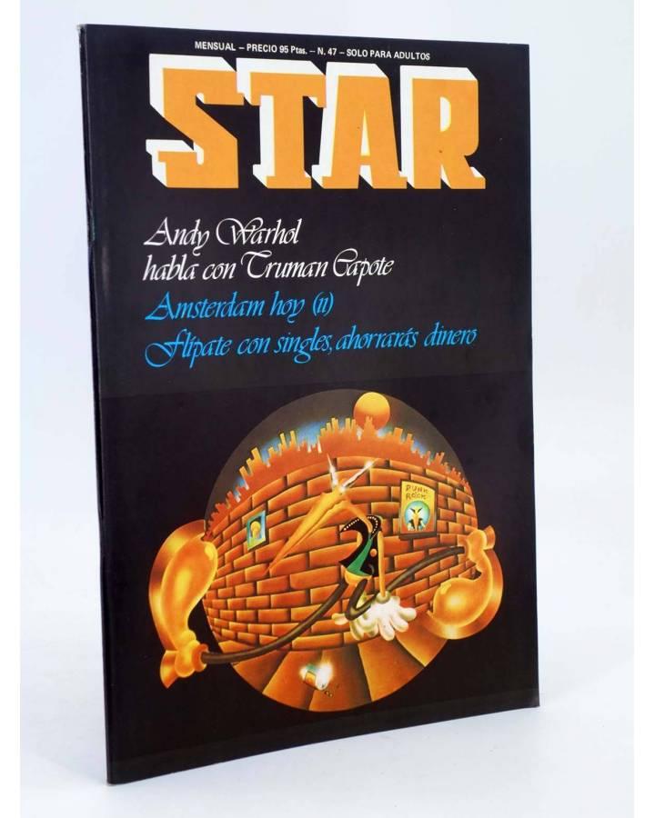 Cubierta de REVISTA STAR 47. COMIX Y PRENSA MARGINAL (Vvaa) Producciones Editoriales 1974