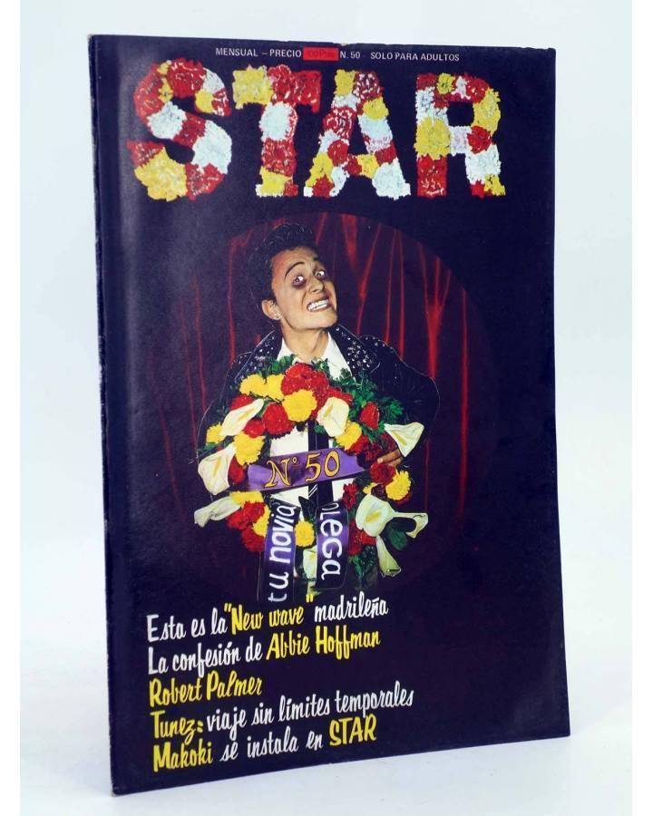 Cubierta de REVISTA STAR 50. COMIX Y PRENSA MARGINAL (Vvaa) Producciones Editoriales 1974