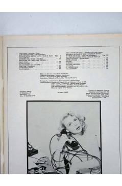 Contracubierta de REVISTA STAR 51. COMIX Y PRENSA MARGINAL (Vvaa) Producciones Editoriales 1974