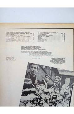 Contracubierta de REVISTA STAR 52. COMIX Y PRENSA MARGINAL (Vvaa) Producciones Editoriales 1974