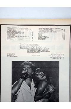 Contracubierta de REVISTA STAR 53. COMIX Y PRENSA MARGINAL (Vvaa) Producciones Editoriales 1974