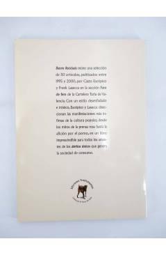 Contracubierta de BASURA RECICLADA. FAM DE FEM CART TURIA (Casto Escópico / Frank Lasecca) Trashumantes 2002
