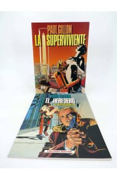 Cubierta de LA SUPERVIVIENTE 1 Y 2 (Paul Guillon) Toutain editor 1990