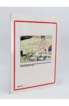 Contracubierta de LA SUPERVIVIENTE 1 Y 2 (Paul Guillon) Toutain editor 1990