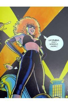 Contracubierta de SEXPERIENCIAS 3. LA BIONDA DOBLE GOLPE (Saudelli) Toutain editor 1990