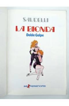 Muestra 4 de SEXPERIENCIAS 3. LA BIONDA DOBLE GOLPE (Saudelli) Toutain editor 1990