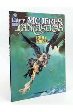 Cubierta de JOYAS DE CREEPY 2. MUJERES FANTÁSTICAS (Esteban Maroto) Toutain editor 1986