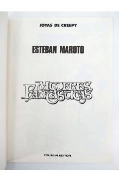 Muestra 3 de JOYAS DE CREEPY 2. MUJERES FANTÁSTICAS (Esteban Maroto) Toutain editor 1986