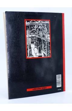 Contracubierta de METAL HURLANT COLECCIÓN NEGRA 25. GOLPE A GOLPE (Violeff) Eurocomic 1986