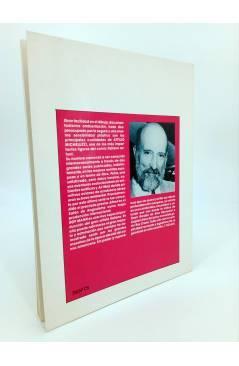 Contracubierta de GRANDES AUTORES EUROPEOS 12. ROY MANN (Attilio Micheluzzi / T. Sclavi) Toutain editor 1990