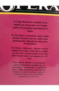 Muestra 1 de OPERA. PARSIFAL SALOMÉ MAHLER PELLEAS & MÉLISANDE (P. Craig Russell) Toutain editor 1990