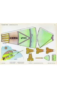 Cubierta de RECORTABLES TORAY GRUPO 5º COHETES Y ASTRONAVES 71. ASTRONAVE 1 PROYECTO USA (Beaumont) Toray 1962