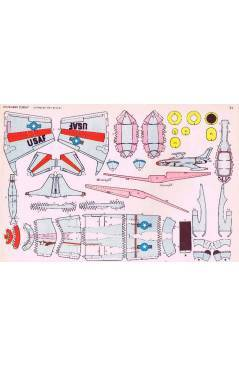 Contracubierta de RECORTABLES TORAY GRUPO 3º AVIONES DE COMBATE 33. A 40. COMPLETA (Beaumont) Toray 1962