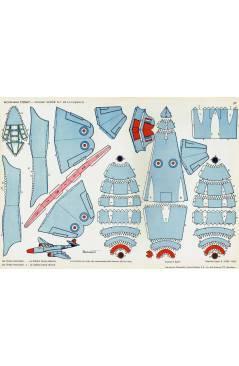 Muestra 4 de RECORTABLES TORAY GRUPO 3º AVIONES DE COMBATE 33. A 40. COMPLETA (Beaumont) Toray 1962