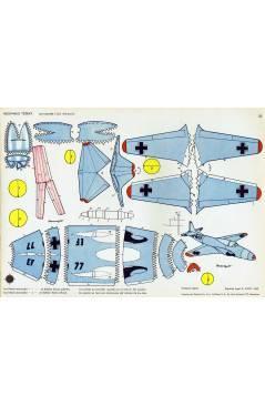 Cubierta de RECORTABLES TORAY GRUPO 3º AVIONES DE COMBATE 33. A 40. LIBRO 16 LÁMINAS (Beaumont) Toray 1962
